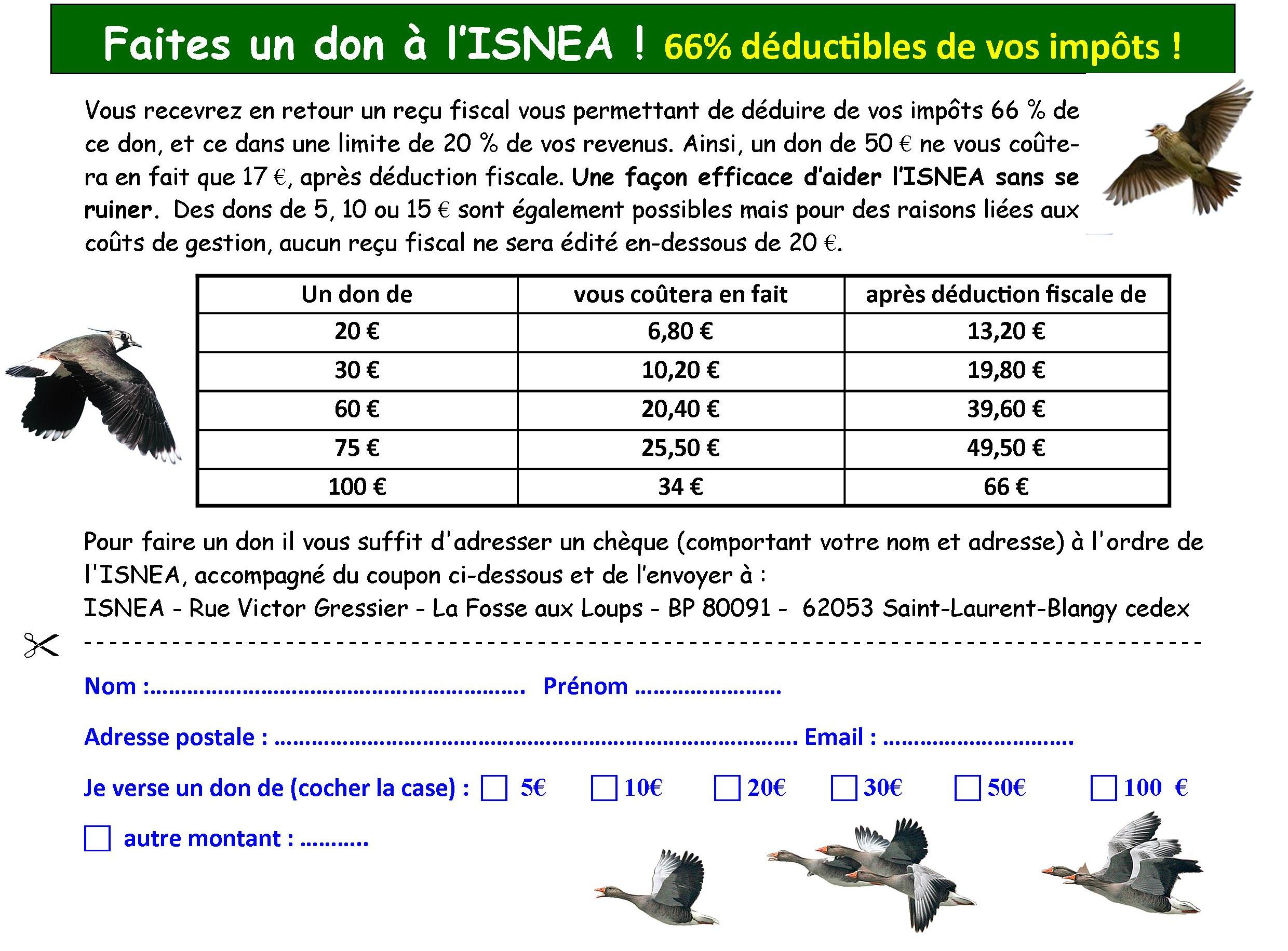 DON ISNEA coupon
